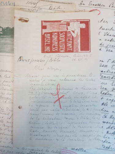 Documents du fonds Georges Haupt